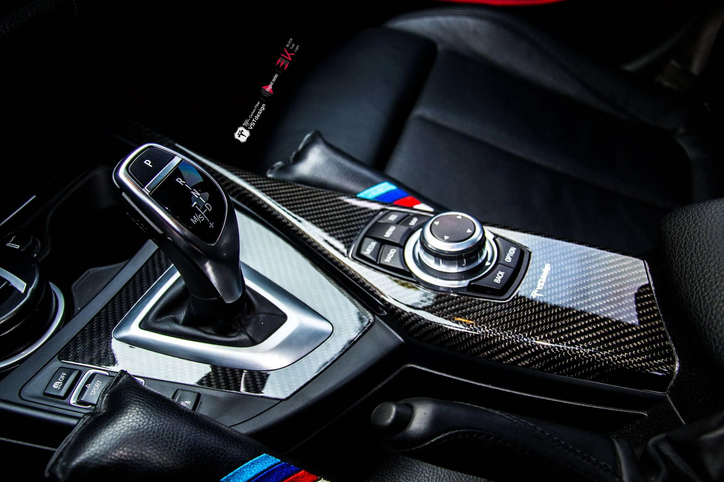 Carbon Fiber Trim Dash Kit Cover Frame for BMW 1 series F20/F21 ...