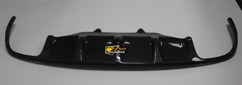 Porsche Macan Carbon Fiber Front Lip Rear Diffuser Panels Jdm Autopart Sport Car Carbon
