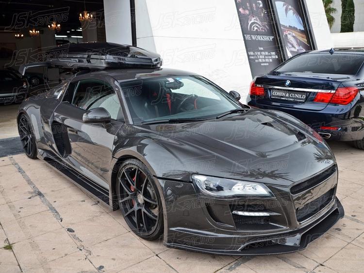 2008 2015 Ppi Style Carbon Fiber Hood For Audi R8 V8 V10 Jdm Autopart Sport Car Carbon Fiber