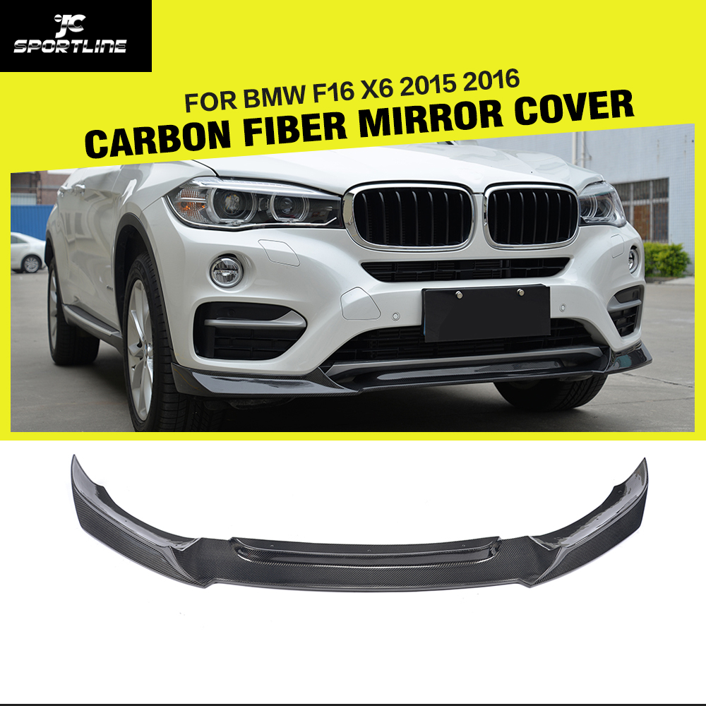 Bmw F16 X6 Carbon Racing Front Lip Splitter Jdm Autopart Sport Car