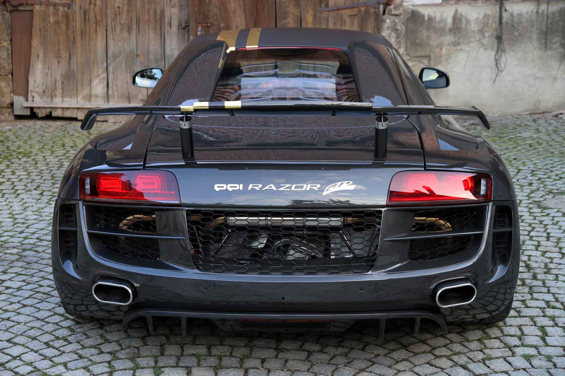 When Audi R8 in PPI Carbon Fiber Body Kit | JDM AUTOPART ...