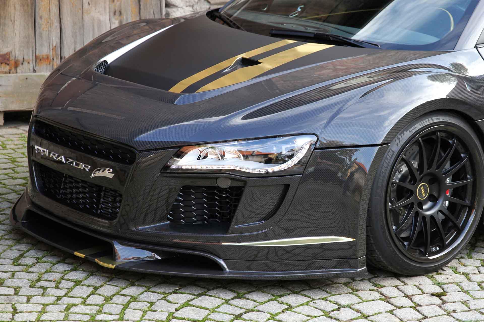 When Audi R8 In Ppi Carbon Fiber Body Kit Jdm Autopart Sport Car Carbon Fiber Body Kits Supplier
