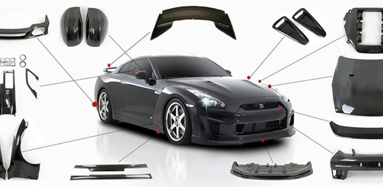 nissan 350z body kit modification in jdmautopart you need. Black Bedroom Furniture Sets. Home Design Ideas