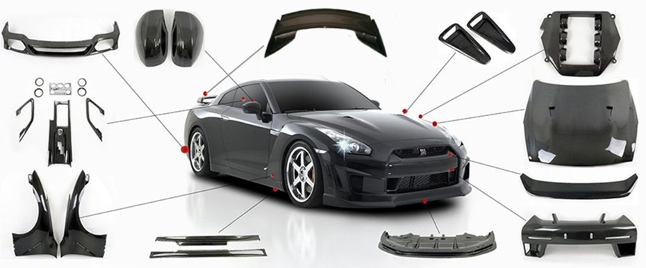 Nissan skyline r34 nismo style carbon fiber bonnet hood for Nissan skyline  r34